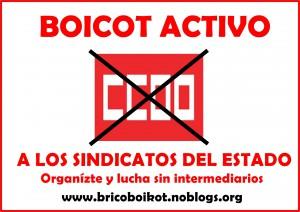 boicot ccoo